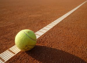 tennis boundry